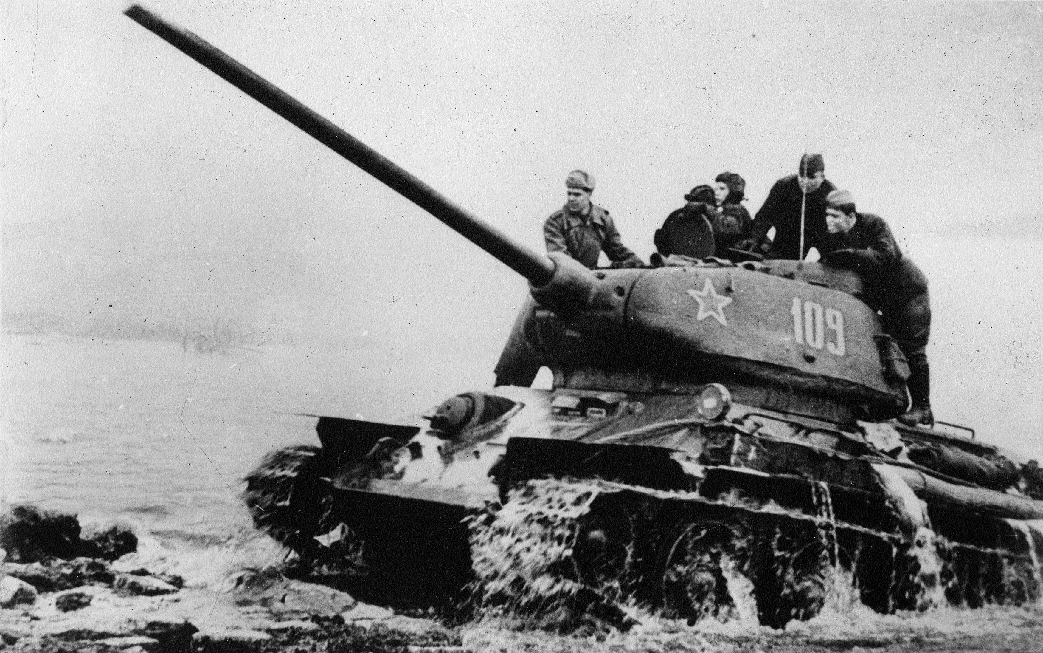 Советский танк Т-34<figcaption class=