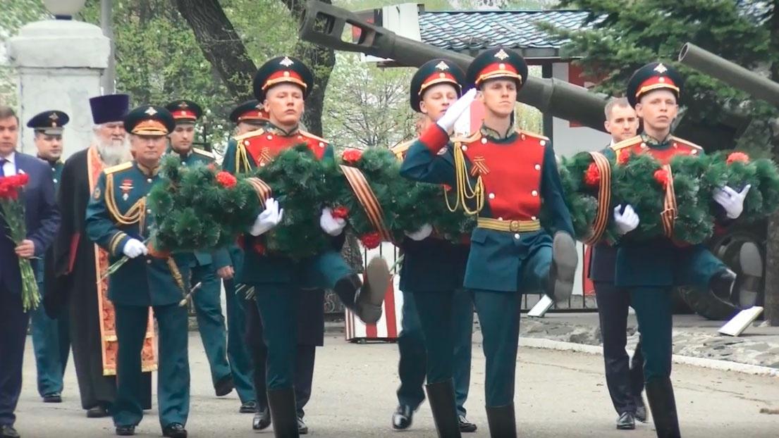 记忆的集会在VVO的联合武器协会举行