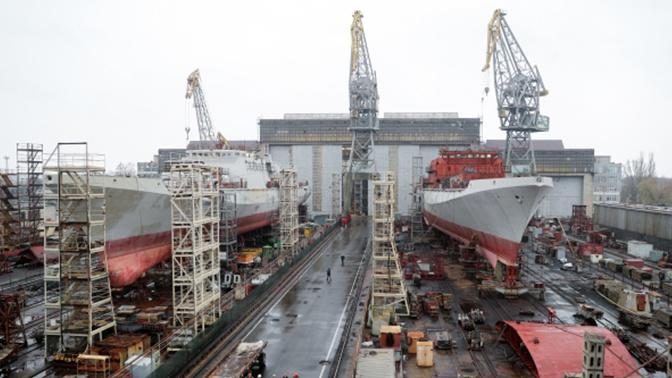 Судозавод «Янтарь» в Калининграде возобновил работу в штатном режиме