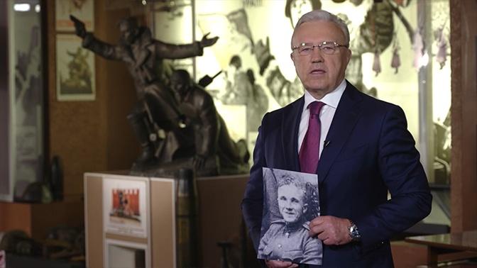 Две медали «За отвагу»: губернатор Красноярского края рассказал о боевом пути отца-фронтовика