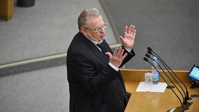 Жириновский предложил вдвое сократить число депутатов в России