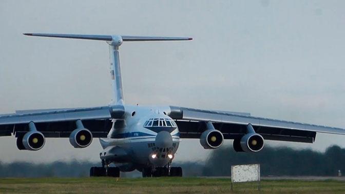 Восьмой самолет ВКС РФ с военными, помогавшими в борьбе с коронавирусом, вернулся из Италии