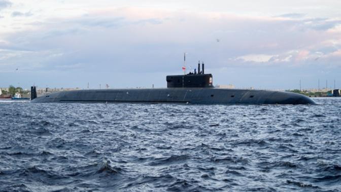 Атомный подводный крейсер «Князь Владимир» вышел в море на госиспытания