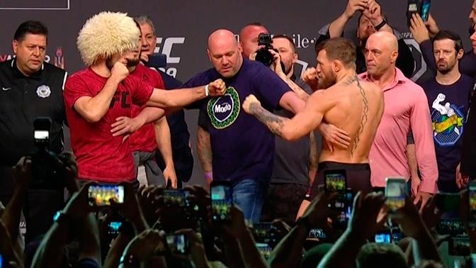 Глава UFC озвучил условия для проведения второго боя между Нурмагомедовым и Макгрегором