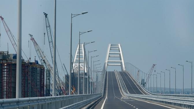 По Крымскому мосту за два года проехало почти 10 миллионов машин