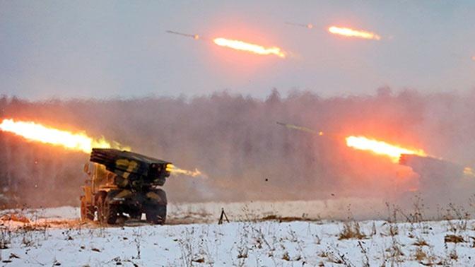 Замминистра обороны: войска РФ провели более 800 тактических учений в зимнем периоде обучения