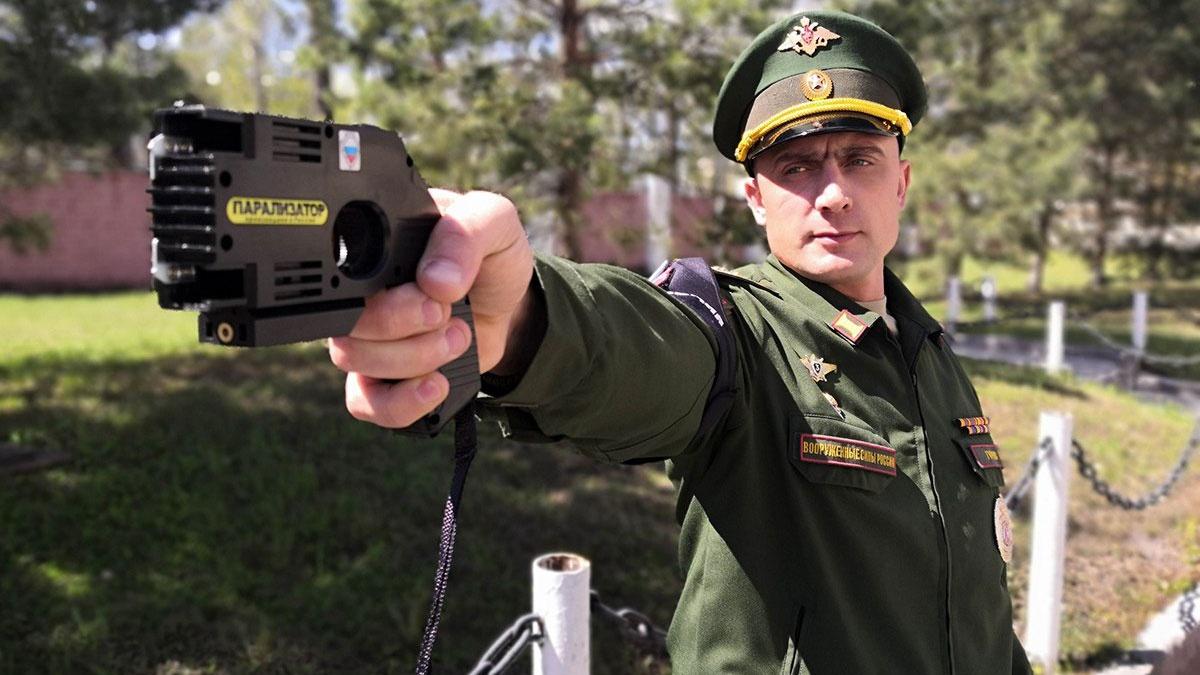 Комплекс «Парализатор» впервые поступил на вооружение военной полиции ВВО