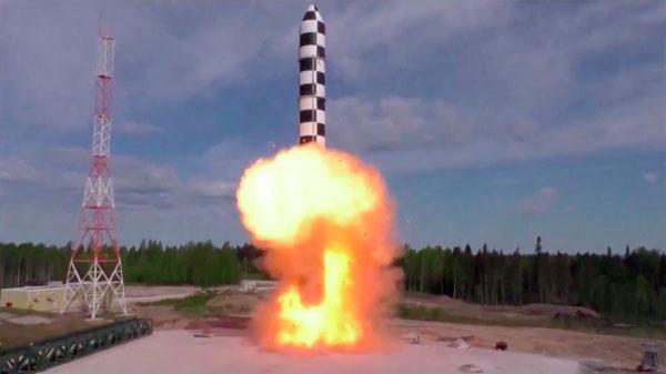 Борисов рассказал о подготовке в условиях коронавируса к испытанию новой ракеты «Сармат»