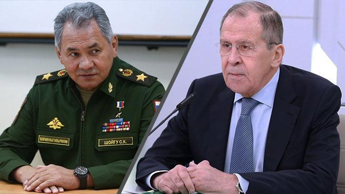 «На передовой защиты национальных интересов»: Лавров поздравил Шойгу с юбилеем