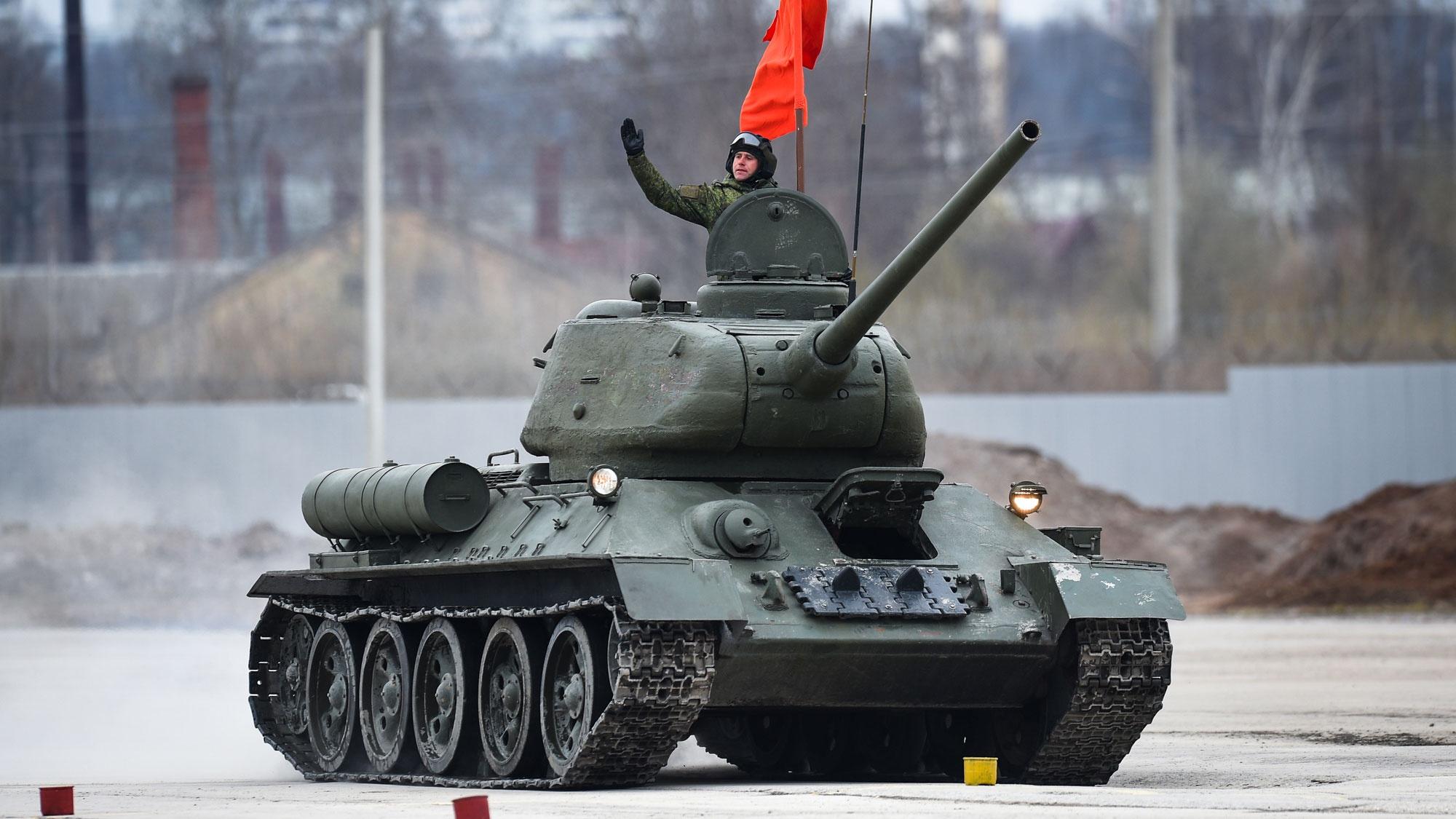 Первый среди лучших: в США оценили роль Т-34 в мировом танкостроении