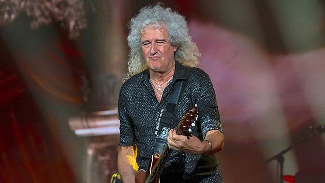 Гитарист Queen Брайан Мэй перенес сердечный приступ