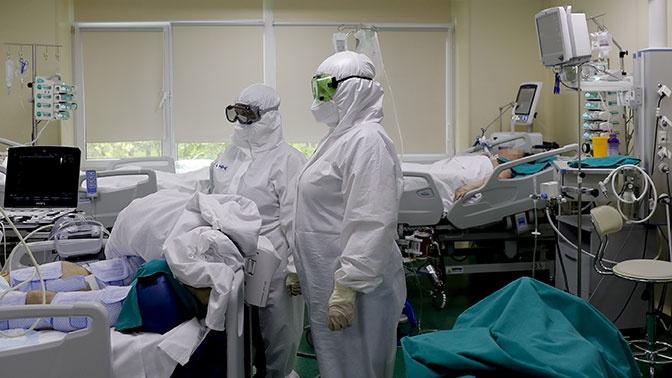 В России зафиксировали 8 915 новых случаев заболевания COVID-19