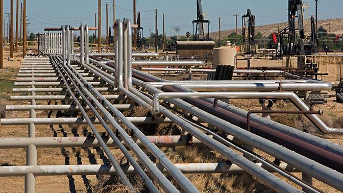 Россия остановила транзит газа через Польшу в Европе