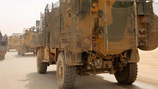 Турецкий военный погиб при патрулировании Идлибской зоны деэскалации