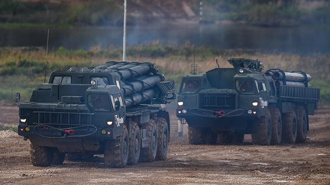 Дальнобойные высокоточные боеприпасы для РСЗО создадут в России через пять-семь лет