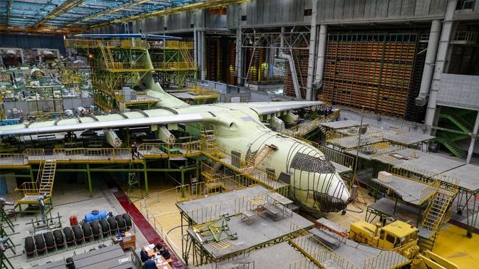 Самолет Ил-76МД-90А прошел проверку на герметичность