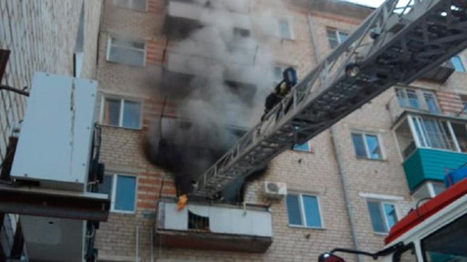 В жилом доме под Хабаровском произошел взрыв газа