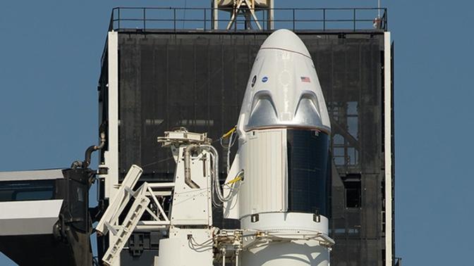 В NASA сообщили, что погода на этот раз позволит провести запуск корабля Илона Маска к МКС