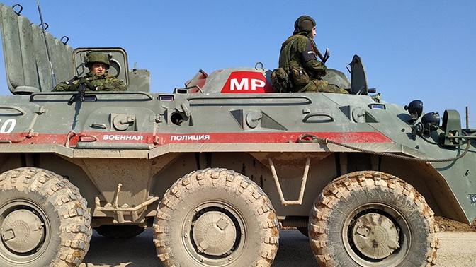 Российские военные провели патрулирование в провинциях Алеппо, Ракка, Дейр-Эз-Зор