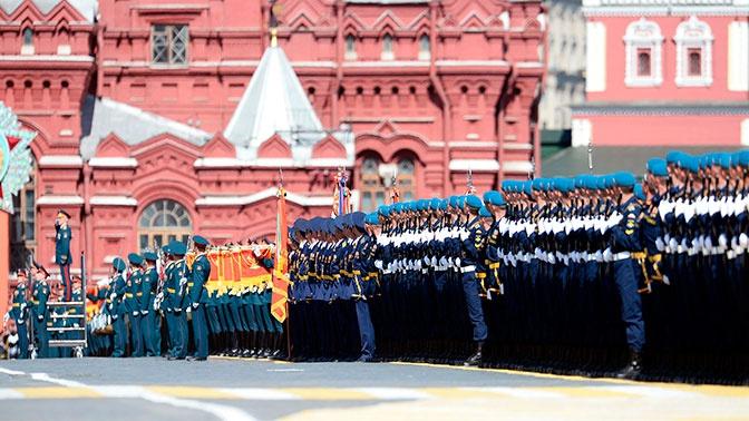 Путин будет наблюдать за Парадом Победы с трибуны на Красной площади
