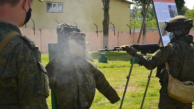 В бригаде связи общевойсковой армии ЗВО прошли учения требованиям безопасности военной службы