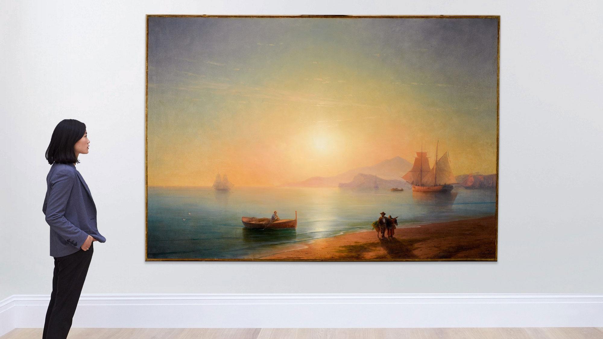 Картину Айвазовского продали на онлайн-аукционе в Лондоне почти за три миллиона долларов