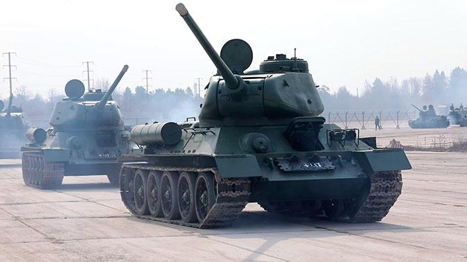 Легендарное оружие: по улицам Москвы на Параде Победы пройдет историческая бронетехника ЗВО