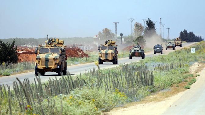 Россия и Турция провели очередное совместное патрулирование в Сирии