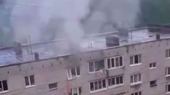 В Сети появились первые кадры после взрыва газа в Ивантеевке