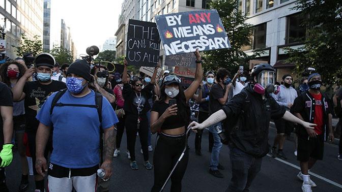В МИД РФ отреагировали на слова генпрокурора США об «иностранном вмешательстве» в протесты