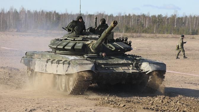 Экипажи БТР-82 и Т-72Б3 выполнят стрельбы в Крыму