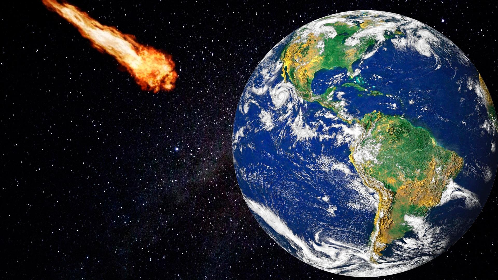В Роскосмосе оценили шансы на столкновение приближающегося астероида с Землей