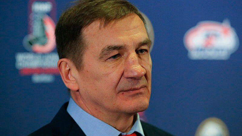 Валерий Брагин стал главным тренером российской сборной по хоккею