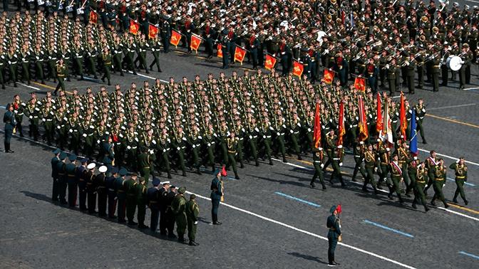 В Парадах Победы по всей России примут участие более 64 тысяч военнослужащих