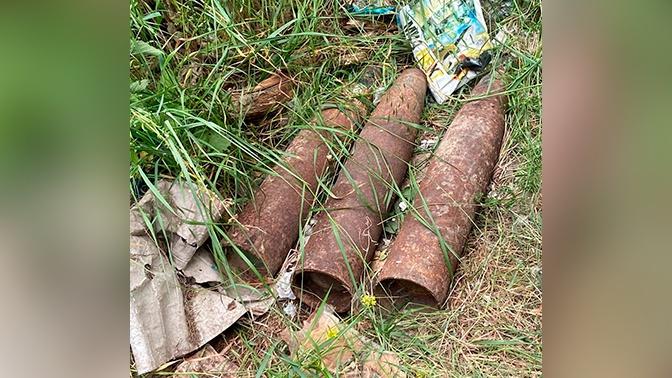 В Дагестане найдены три боевых снаряда