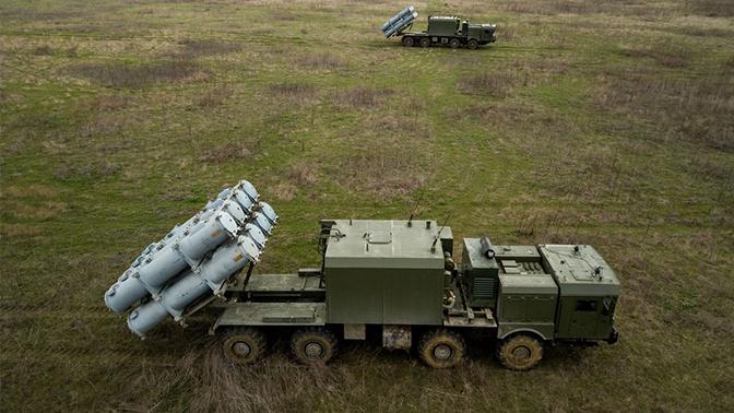 На побережье Крыма и Кавказа проходят учения ракетных комплексов «Бал» и «Бастион»