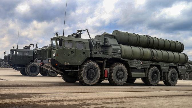 ВС РФ получат три новых полка С-400 «Триумф»