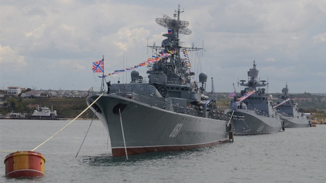 В Севастополе и Новороссийске пройдет парад кораблей в честь 75-летия Победы