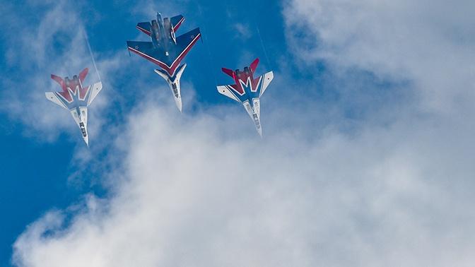 Репетиция воздушной части Парада Победы: фоторепортаж