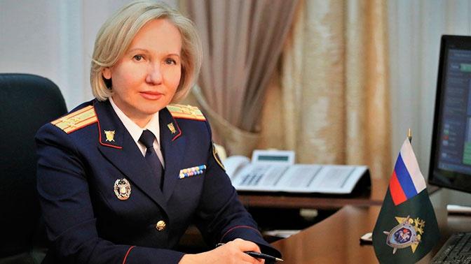 Официальному представителю СК Светлане Петренко присвоено звание генерал-майора