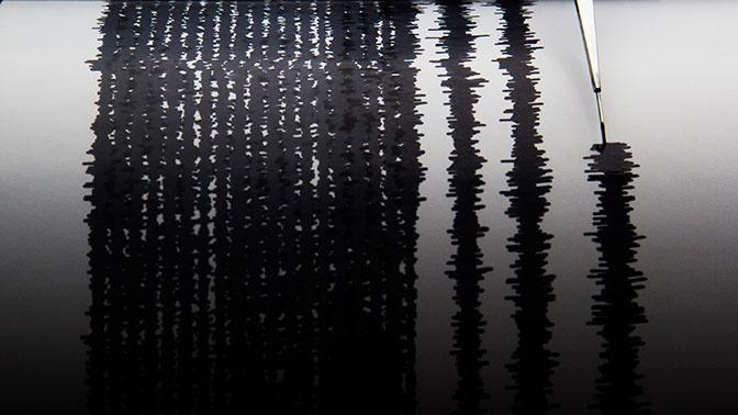 У берегов Курил произошло землетрясение