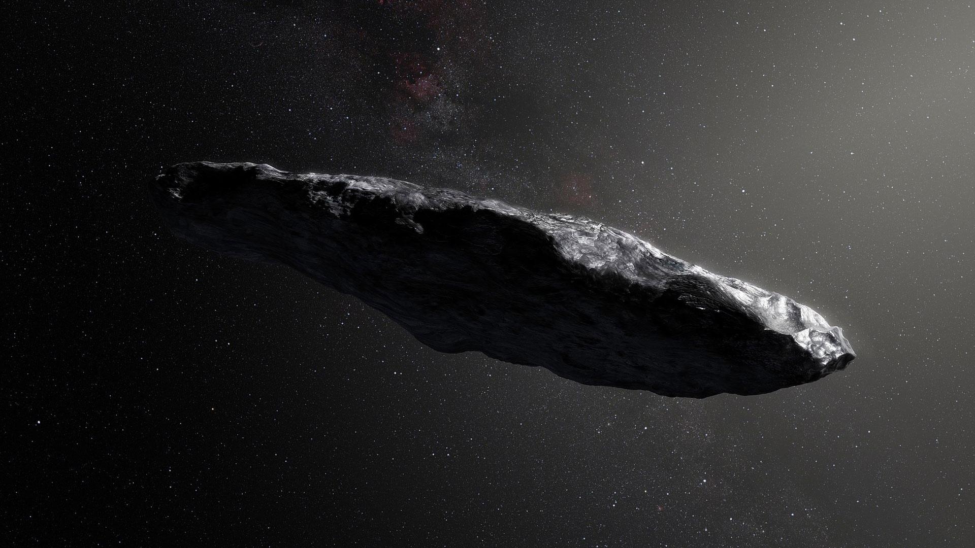 Ученые раскрыли тайну космической «сигары»
