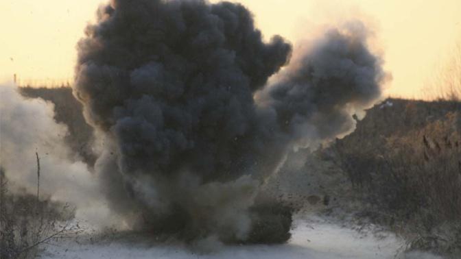 Четверо военных пострадали при взрыве на полигоне под Новосибирском