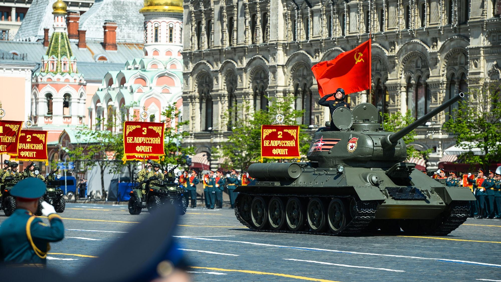 Парады во всей красе: на сайте Минобороны РФ открыт раздел, посвященный торжествам 24 июня