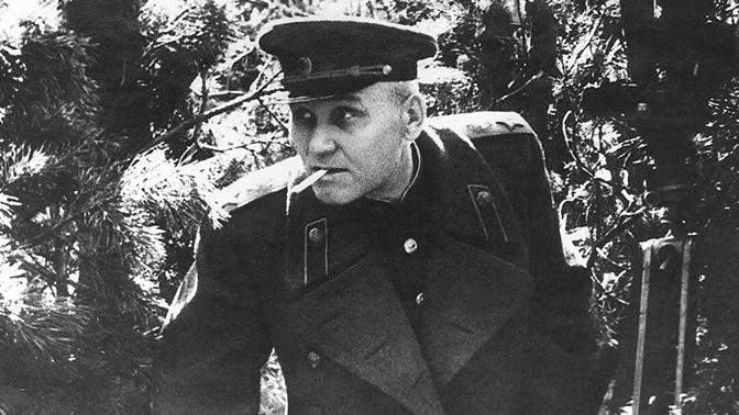 Маршал Советского Союза И.С. Конев 1944 год