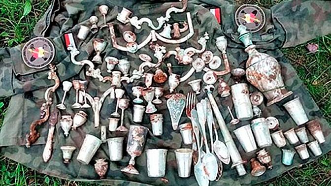 Ученые нашли спрятанные сокровища в замке нацистов в Польше