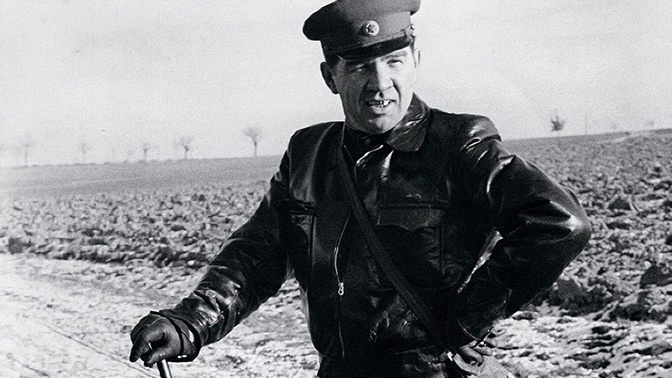 Маршал Чуйков на охоте в Германии в 1950-е годы.<figcaption class=