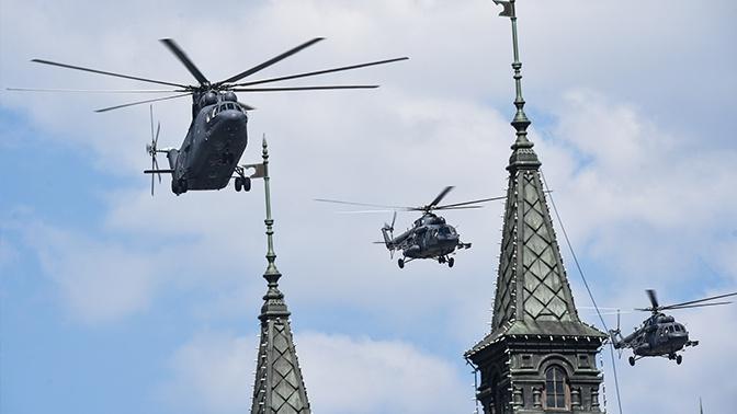 Воздушная часть парада в Москве: подробно обо всех самолетах и вертолетах