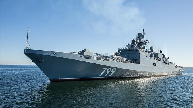 Фрегат «Адмирал Макаров» пополнит группировку ВМФ в Средиземном море