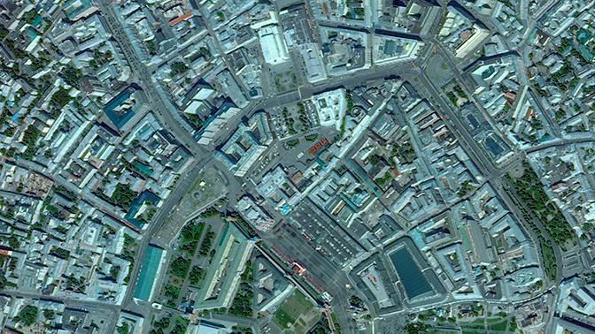 Неземной размах: Роскосмос снял с орбиты военный парад в Москве